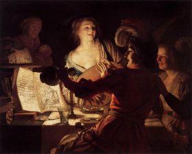 "Gerard van Honthorst's ""Merry Company"""